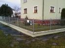 ocelový lakovaný plot Třeboň